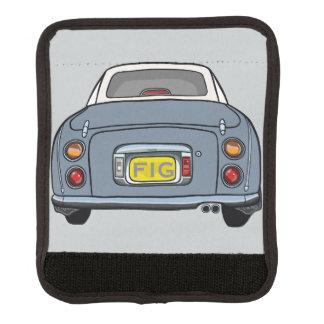 Enveloppe grise de poignée de bagage de voiture de protège poignée pour bagage