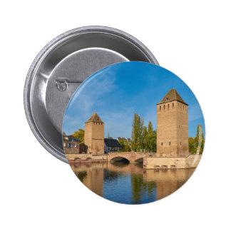 Enveloppes de Pont de tour d'Alsace Strasbourg Badge