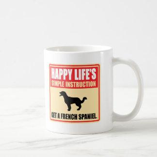 Épagneul français mug