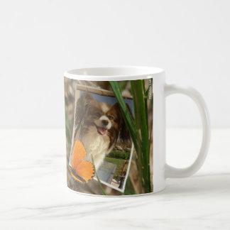 Épagneul papillon mug