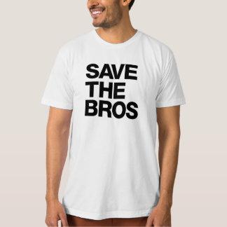 Épargnez T des hommes organiques de Bros - blanc T-shirt