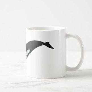 Épaulard noir et blanc d'orque mug