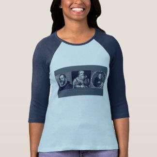 Épaules du T-shirt des femmes de Giants