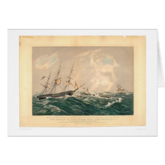 """Épave du paquebot """"San Francisco"""" (1877A) Carte De Vœux"""