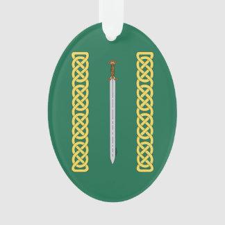 Épée celtique et Knotwork