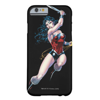 Épée de oscillation de femme de merveille coque iPhone 6 barely there