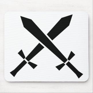 épées tapis de souris