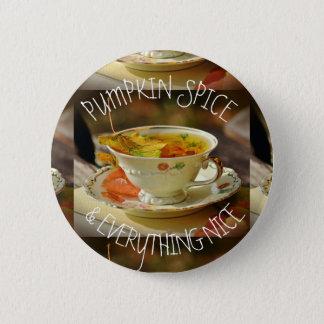 Épice et tout de citrouille Nice Pin d'automne Badge