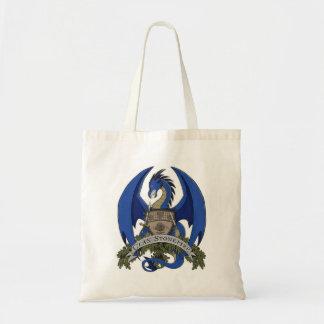 Épicerie (bleue) Fourre-tout de crête de dragons Sac De Toile