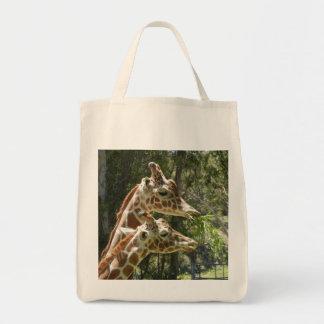 Épicerie Fourre-tout de girafe Tote Bag