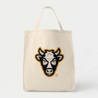 Épicerie Fourre-tout de logo de vache au Wisconsin Sac