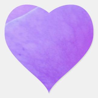 Épices chaudes - ombre, Flowrals, points, lustre Sticker Cœur