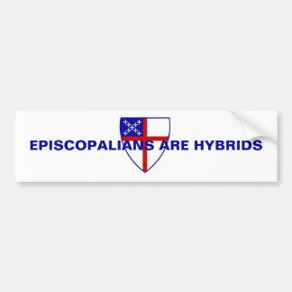 EPISCOPALIANS SONT DES HYBRIDES AUTOCOLLANT DE VOITURE
