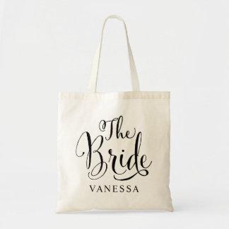 Épousant la partie nuptiale | la jeune mariée tote bag