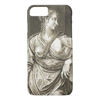 Épouse d'Agrippina de Tiberius (gravure) Coque iPhone 7