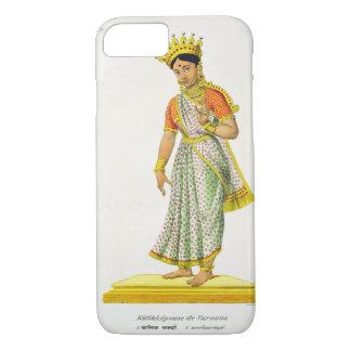 Épouse de Kalika de Varuna, gravée par C. de Motte Coque iPhone 7