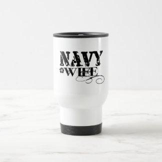 ÉPOUSE de marine Mug De Voyage