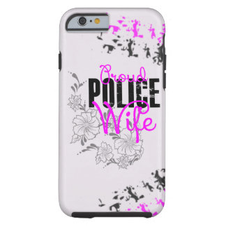 Épouse fière de police coque tough iPhone 6