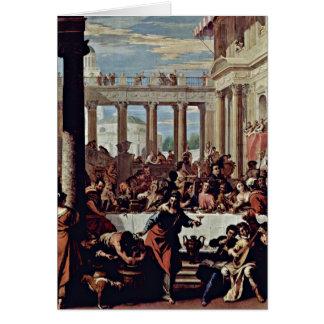 Épouser chez Cana par Sebastiano Ricci Cartes