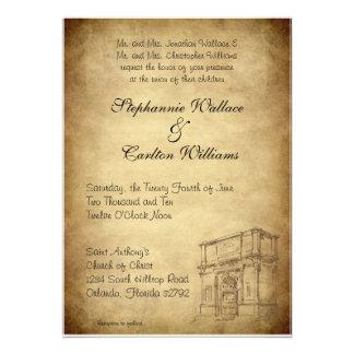 Épouser dans l invitation de Rome