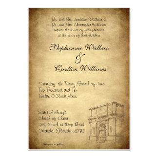 Épouser dans l'invitation de Rome