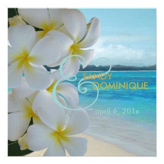 Épouser de Lei beach tropical de Plumeria de PixD