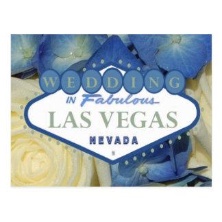 ÉPOUSER EN carte postale fabuleuse de Las Vegas