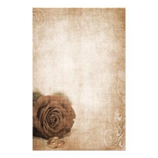 Épouser le cru rose papeterie
