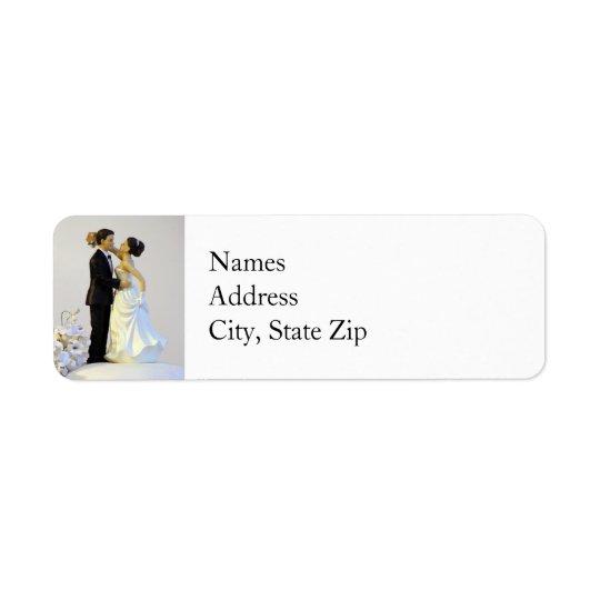 Épouser les étiquettes de adresse de retour