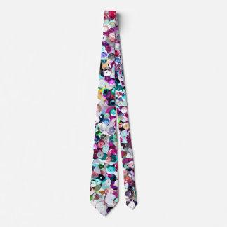 Épreuve photographique enorme de paillette cravates