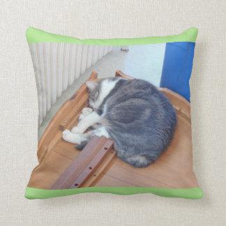 'Épuisé après un mouvement Kitty Coussin