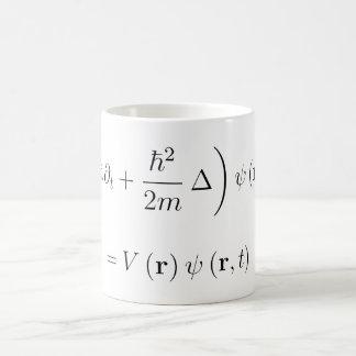 Équation d'ondes de Schrodinger Mug