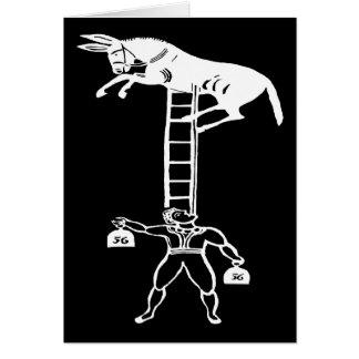 Équilibrage d'une carte vivante de ~ d'âne