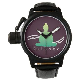 """""""Équilibre"""" beau Bouddha Montre"""