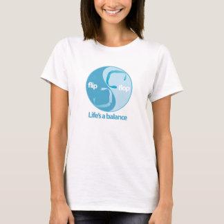 équilibre de bascule électronique t-shirt