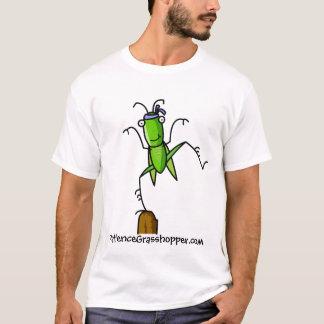 Équilibre de sauterelle de la patience t-shirt