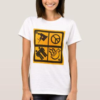 Équilibre d'université t-shirt