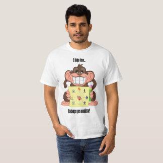 équilibre pour analyser t-shirt