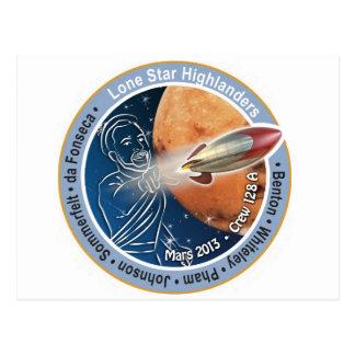 Équipage 128A de correction de Mars Carte Postale