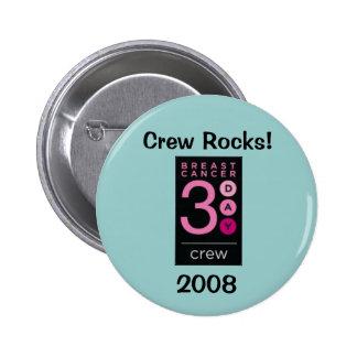 Équipage 2008 de trois jours de cancer du sein badges