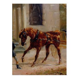 Équipage de Henri De Toulouse-Lautrec chez Bosc Carte Postale