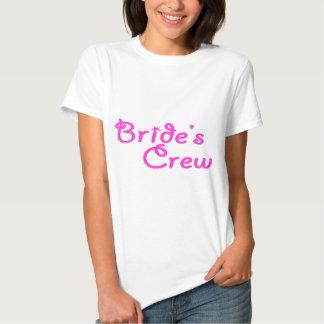 Équipage de jeunes mariées t-shirts
