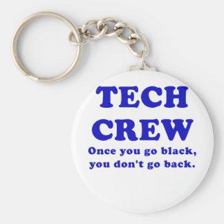 Équipage de technologie une fois que vous allez porte-clés