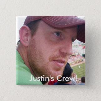 Équipage du point-virgule de Justin ! Pin's