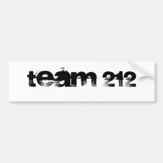 équipe 212 autocollant pour voiture