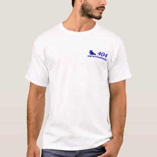 équipe 404 non avérée emballer t-shirt