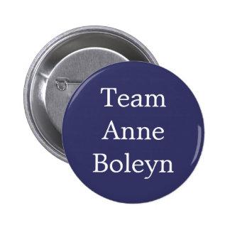Équipe Anne Boleyn Badge Rond 5 Cm