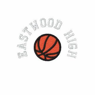 Équipe de basket - personnalisable sweat-shirt à capuche brodé