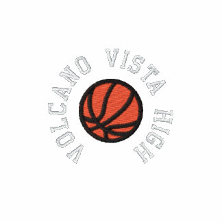 Équipe de basket - personnalisable sweat-shirt zipper brodé