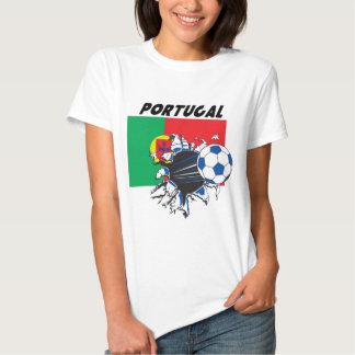 Équipe de football de football du Portugal T-shirts